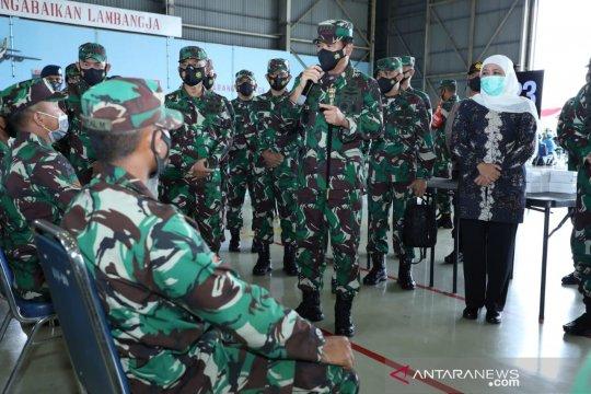 Panglima TNI pimpin Serbuan Vaksin Covid-19 prajurit di Malang Raya