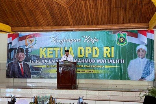 "Ketua DPD RI: Pondok pesantren ""Prototipe Civil Society"""