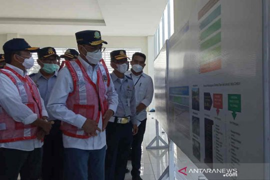 Menhub tinjau pembangunan Terminal Harjamukti Cirebon