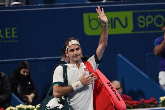 Federer mundur dari Dubai untuk fokus latihan