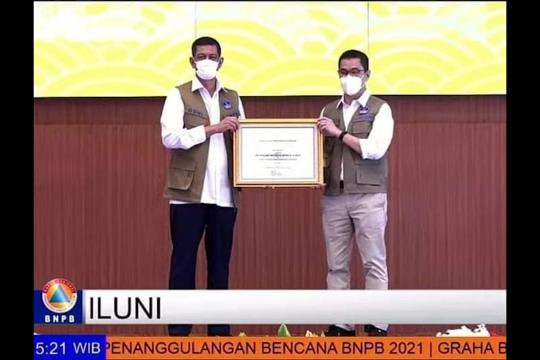 ILUNI UI raih penghargaan atas kontribusi dalam penanggulangan bencana