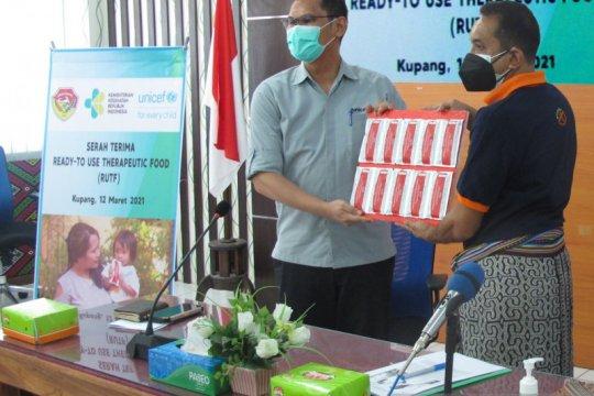 Pemprov NTT dapat 1.000 boks RUTF dari UNICEF cegah masalah stunting