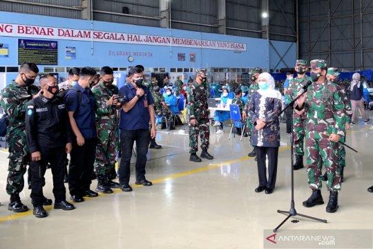 Panglima TNI tinjau pelaksanaan vaksinasi COVID-19 Malang Raya