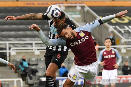 Liga Inggris : Newcastle tahan imbang Aston Villa