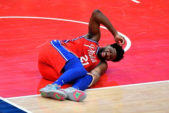 Meski cedera, Joel Embiid mampu bawa Sixers tundukkan Wizards