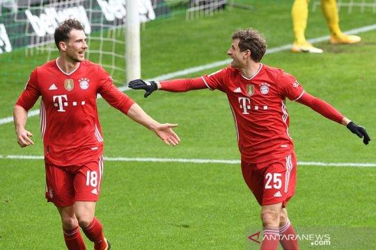 Bayern jaga posisi puncak selepas gasak Bremen 3-1