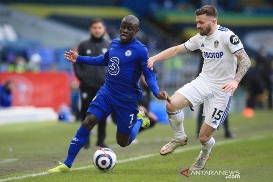 Chelsea jaga catatan nirkalah bareng Tuchel seusai imbangi Leeds 0-0