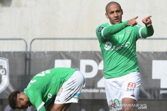 VAR bantu Saint-Etienne kembali ke jalur kemenangan