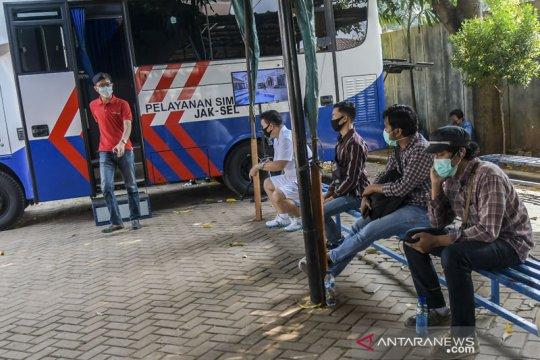 Lima gerai SIM keliling tersedia di Jakarta pada Rabu