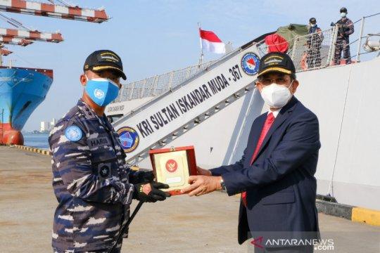 Dubes RI lepas KRI SIM-367, kontingen garuda XXVIII dari Kolombo