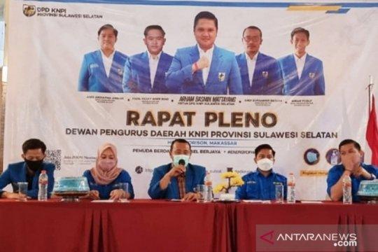 KNPI Sulsel serukan DPP kongres bersama akhiri konflik organisasi