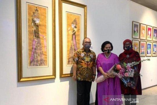 Sasya Tranggono pamerkan lukisan wayang di Singapura