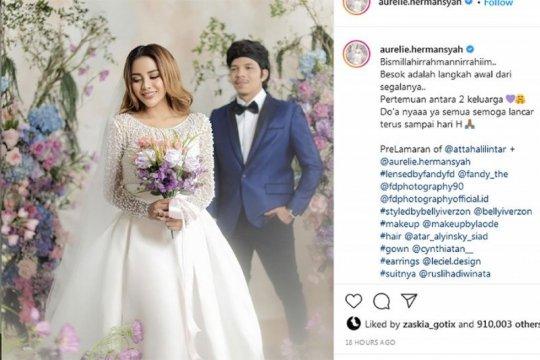 Soal izin akad nikah Aurel-Atta, Pemkot Jakpus tunggu pencatatan KUA
