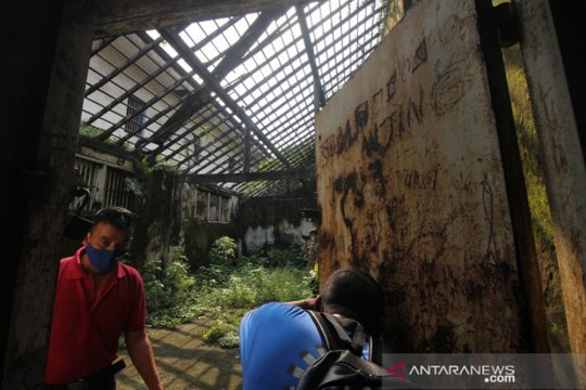 Perusakan cagar budaya Penjara Kalisosok Surabaya diselidiki Disparta