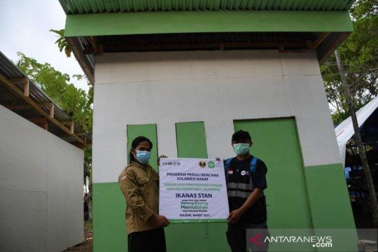 Ikanas-IZI serahkan hunian sementara untuk korban gempa Sulbar