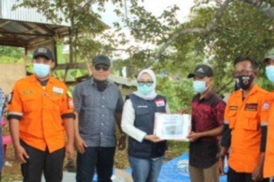 Bupati Mamuju salurkan bantuan gempa Rp592 juta