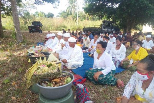 Ratusan umat Hindu di Belitung jalani Catur Brata Penyepian