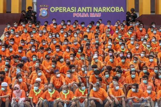Kemenkumham pindahkan 643 bandar narkoba ke Nusakambangan