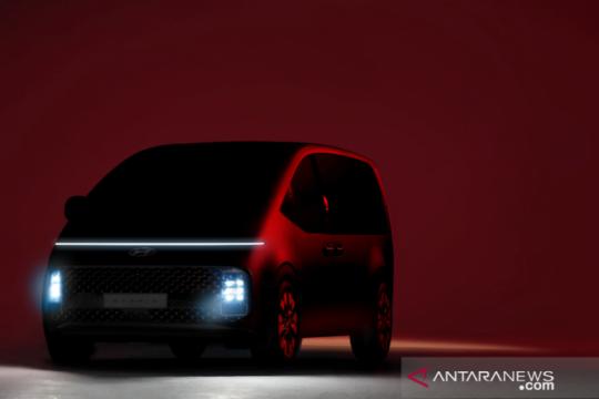 Hyundai siap hadirkan Staria dengan desain futuristik