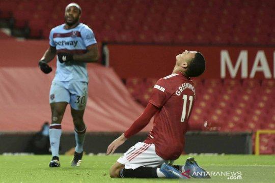 MU kalahkan West Ham berkat gol bunuh diri