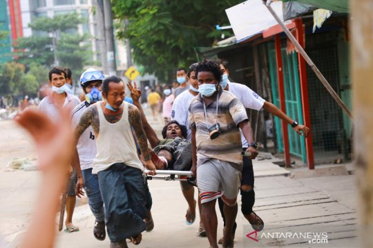 Kemlu sebut belum mendesak evakuasi WNI dari Myanmar