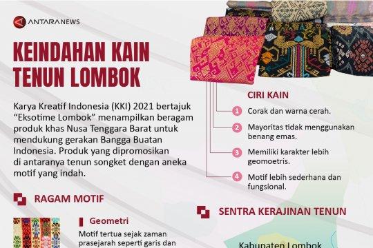 Keindahan kain tenun Lombok