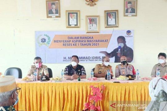 Anggota DPRD serap aspirasi masyarakat Kepulauan Seribu