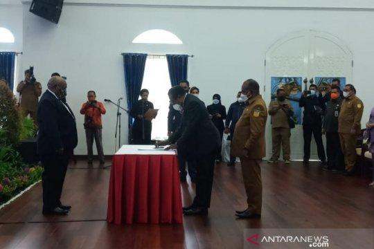 Pemprov Papua gelar serah terima jabatan sekretaris daerah