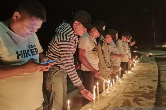 1.000 lilin masyarakat Tanimbar untuk perjuangan hak PI Blok Masela