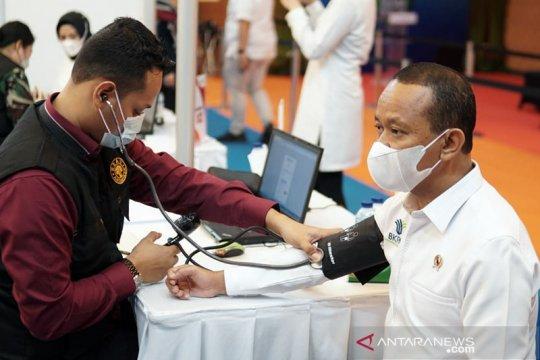 BKPM vaksinasi COVID-19 pegawai untuk percepat layanan investasi