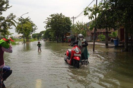 Banjir di Kabupaten Gresik meluas di empat kecamatan