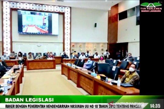 DPR dan pemerintah sepakat percepat bentuk lembaga pangan nasional