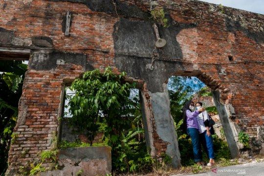 Situs cagar budaya Pabrik Kelapa Mexolie kondisinya memprihatinkan