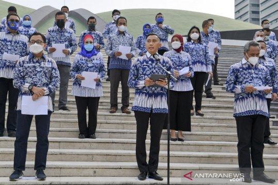 Fraksi Partai Demokrat DPR nyatakan ikrar setia kepada AHY