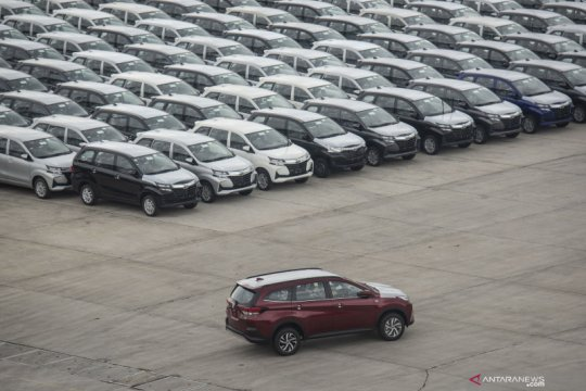 Penjualan mobil April melonjak 227 persen dampak insentif PPnBM