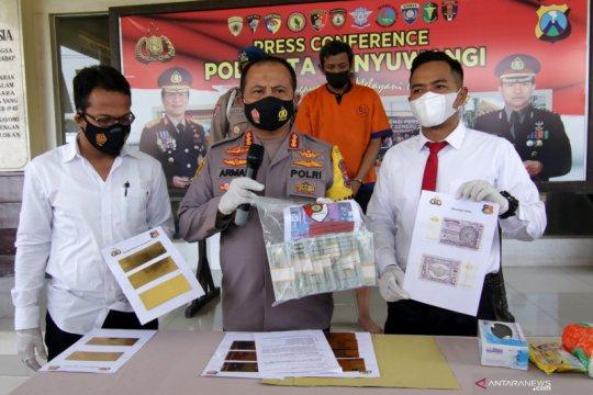 Pengungkapan sindikat pencetak dan pengedar uang palsu