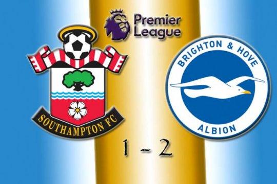 Brighton jauhi ancaman degradasi usai bungkam Southampton 2-1