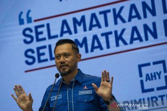 Demokrat Sumut larang warga pakai atribut partai tanpa izin
