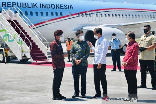 Presiden harap sektor perekonomian di Bali bisa segera bangkit