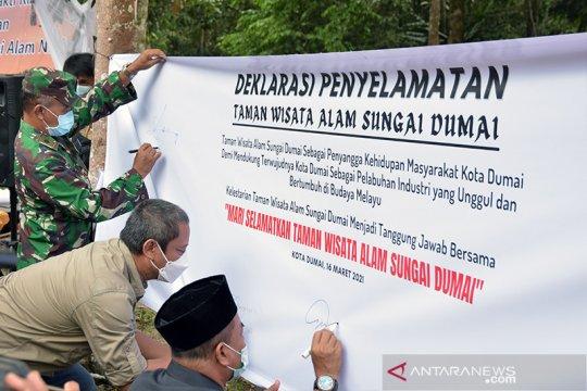 BBKSDA Riau inisiasi deklarasi penyelamatan TWA Sungai Dumai