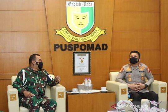 Polri perkuat sinergi dan komunikasi dengan TNI disiplinkan personel