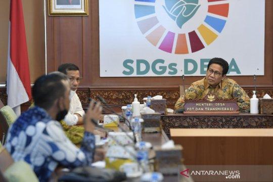 Kemendes rencanakan pilot project SDGs desa tanpa kemiskinan di Riau
