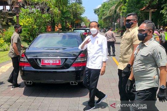Presiden Jokowi: Ubud Sanur Nusa Dua jadi contoh wisata zona hijau