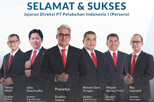 Kementerian BUMN tunjuk Prasetyo sebagai Dirut baru Pelindo I