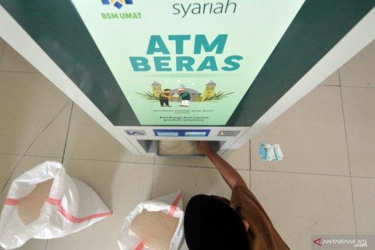 Penggunaan ATM beras