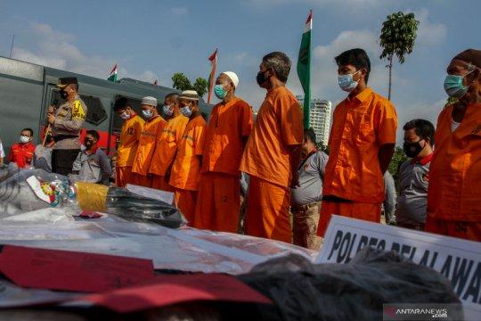 Polisi tangkap pelaku pembakar lahan di Riau