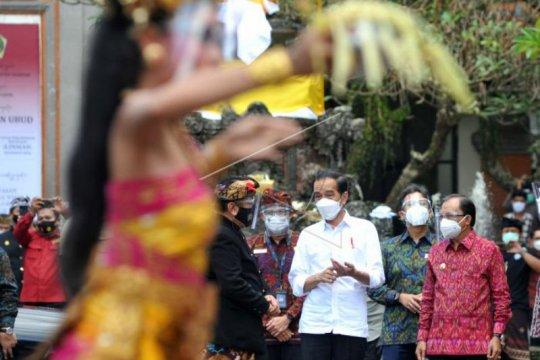 Presiden prediksi pariwisata Bali bangkit pertengahan 2021