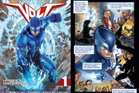 """Komik pahlawan super """"Volt"""" lahir kembali dalam format baru"""