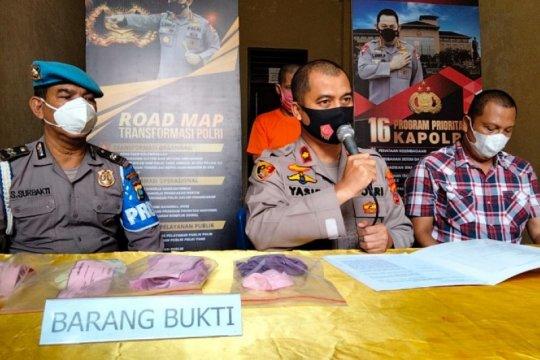 Polisi tangkap pelaku pencabulan dua anak kandung di Medan