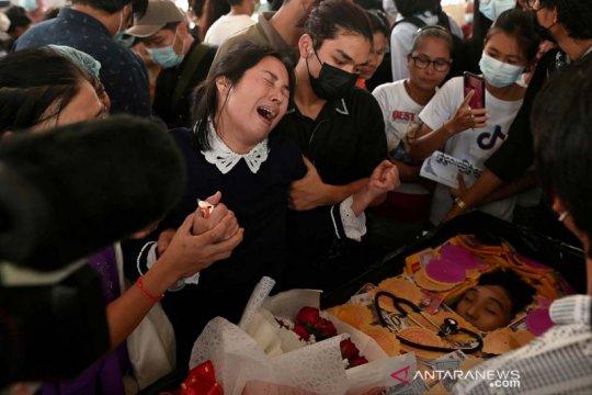 Mahasiswa kedokteran ditembak hingga meninggal dunia saat unjuk rasa di Myanmar